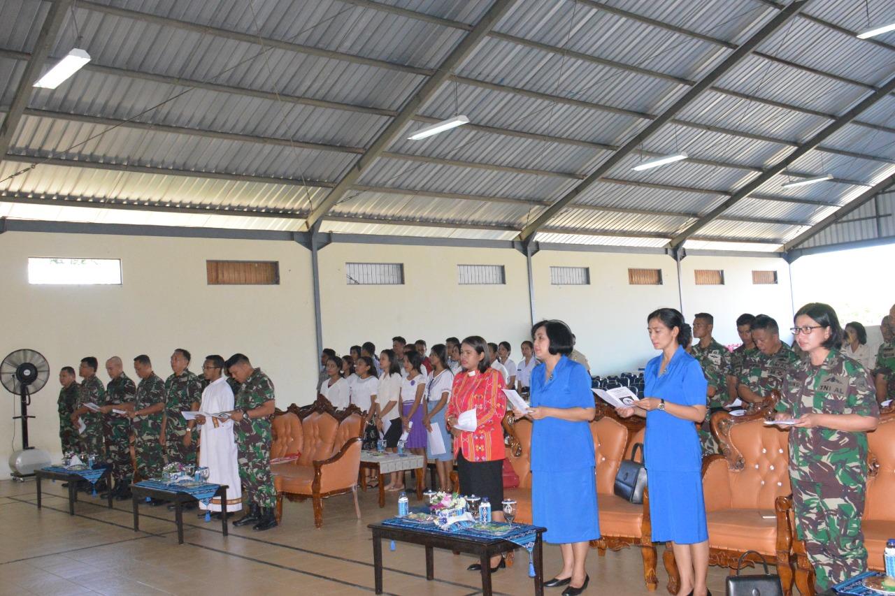 Danlantamal Vii Kupang Gelar Perayaan Paskah Bersama Prajurit Pena Timor