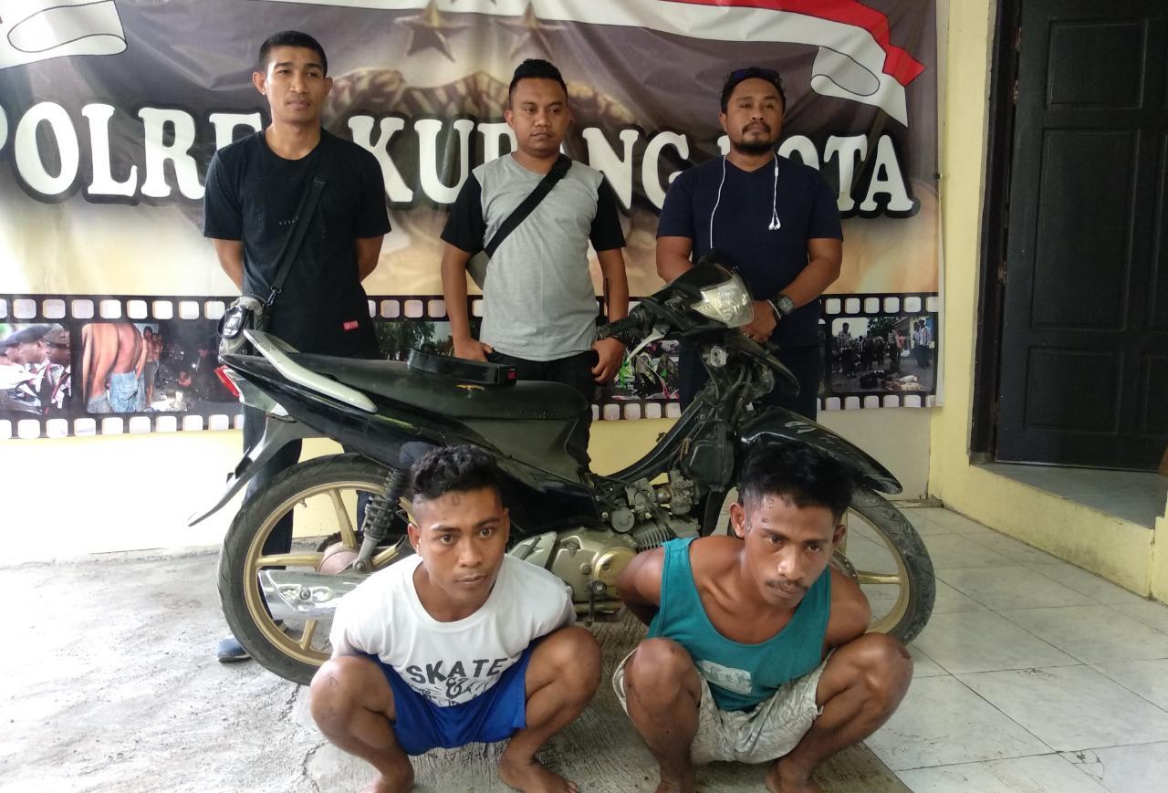 Polisi Bekuk Dua Pelaku Jambret di Kupang