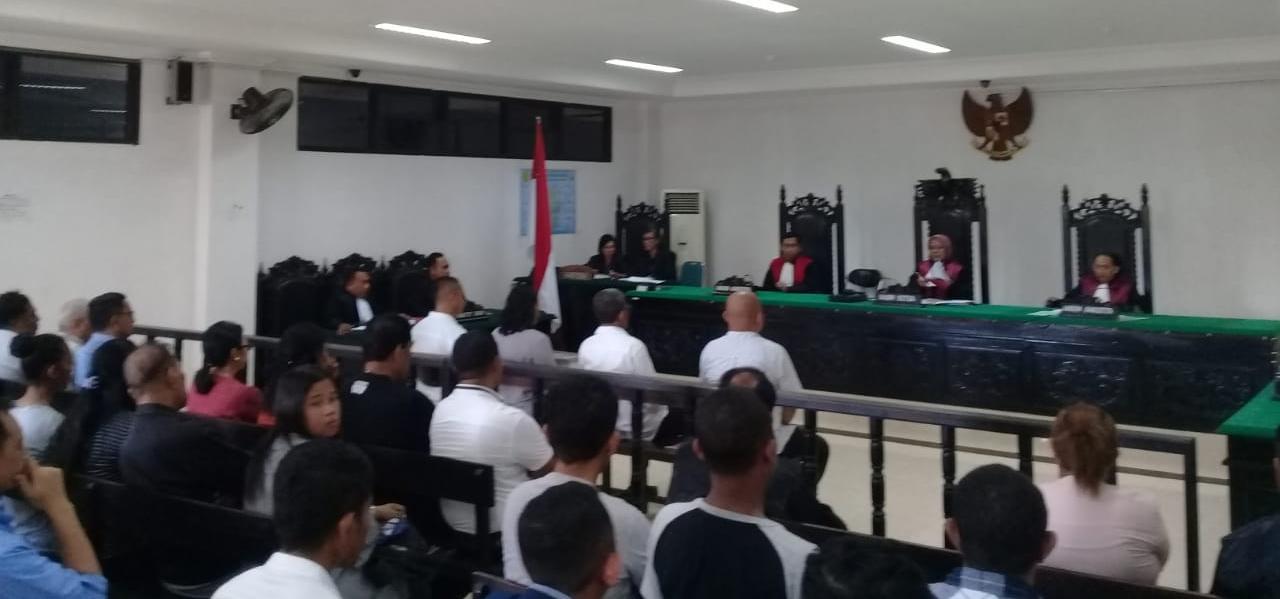 Dugaan Korupsi Kredit Macet, Empat Karyawan Bank NTT Jalani Sidang Perdana