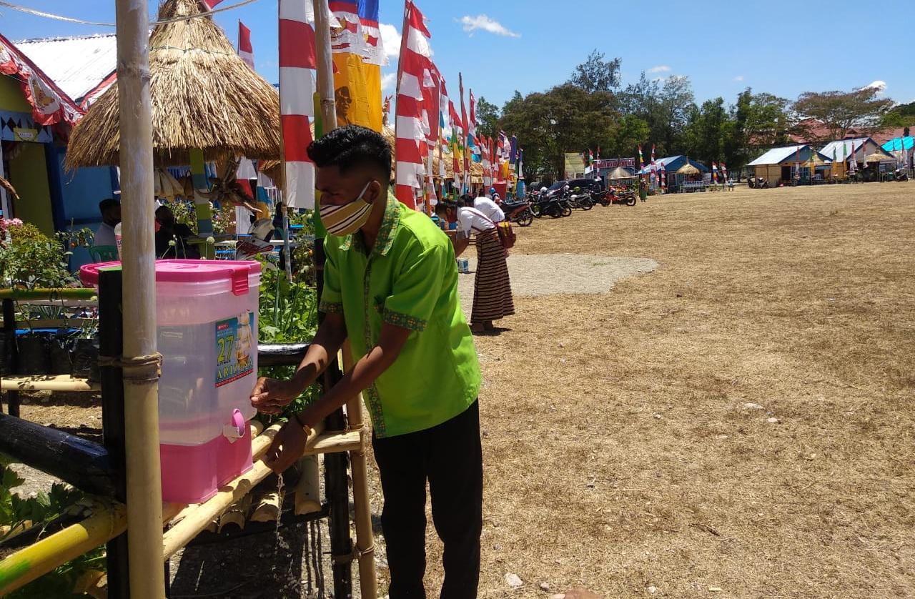 Pameran Pembangunan di Kefamenanu Perketat Protokol Kesehatan