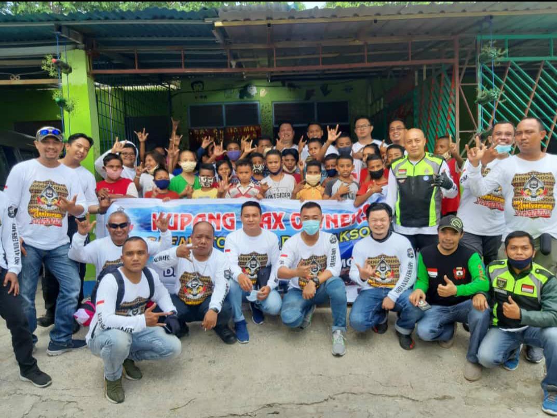 HUT Ke-3 Kupang Max Owner, Lakukan Bansos di 3 Kabupaten