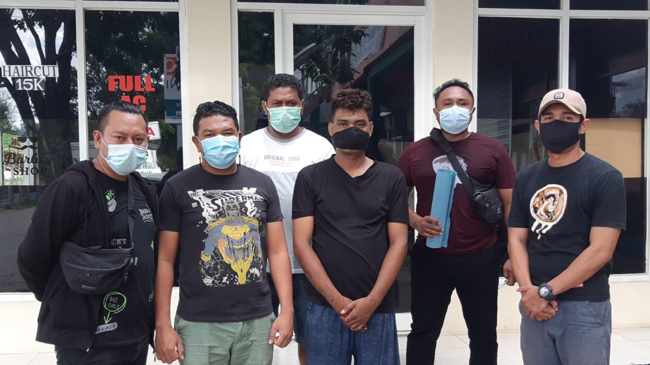 Tim Buser Polresta Kupang Bekuk DPO Penganiayaan Karyawan Bengkel Raja Motor