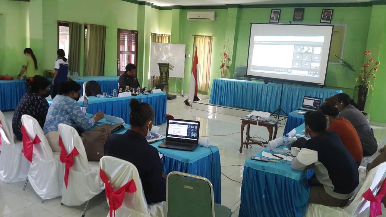 AJI Latih Jurnalis di Kupang, Perkuat Kapasitas Pemimpin Muda Serikat Media Saat Pandemi Covid-19