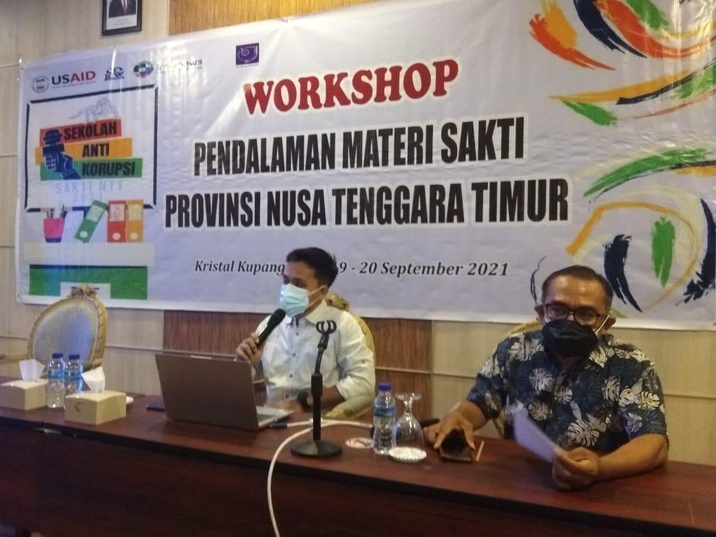 Dorong Karya Jurnalistik Lawan Korupsi, ICW Menyelenggarakan AKJA Regional NTT